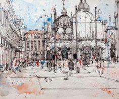 Urban Sketchers: Мастер-класс Регины Шафир