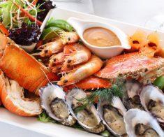 6 ресторанов с блюдами из морепродуктов