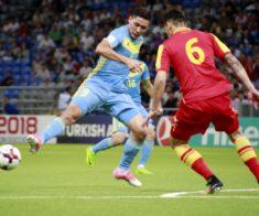Футбол: Казахстан — Армения