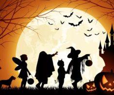 Детская вечеринка Хэллоуин