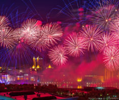 Праздничный фейерверк в честь Дня Независимости