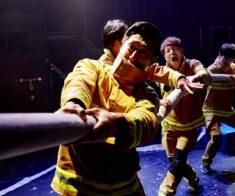 Невербального шоу «Fireman»