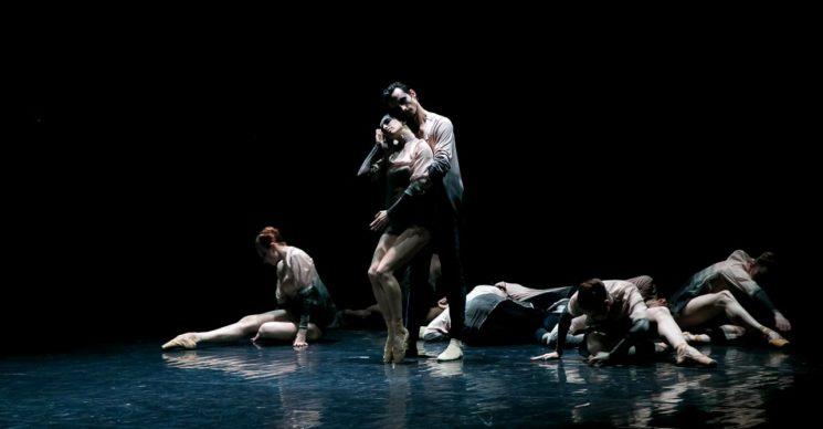 Мировая премьера балета «The Falling Man»