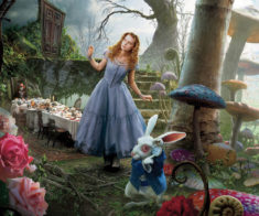 Алиса в стране чудес в Астане