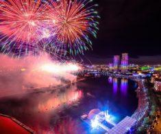 Новогодняя ночь в Астане