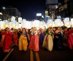 Празднование корейского Нового года «Сольналь»