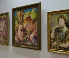 Выставка Александра Бибина