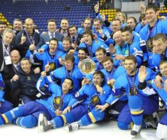 Корея — Казахстан. Чемпионат мира по хоккею 2019