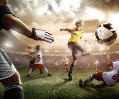 Турнир по дворому футболу среди детей