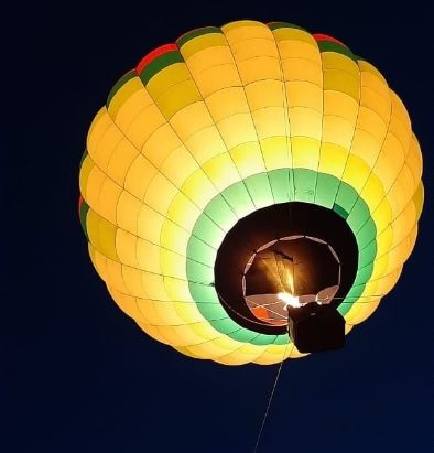 Привязные полеты на воздушном шаре