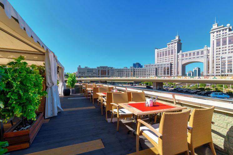 На свежем воздухе: летние террасы Астаны