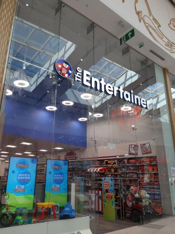 """Британский сеть магазинов игрушек """"The Entertainer"""""""