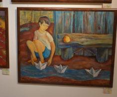 Юбилейная выставка художника Калиолы Ахметжана