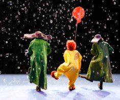 Снежное шоу «Славы Полунина» в Астане