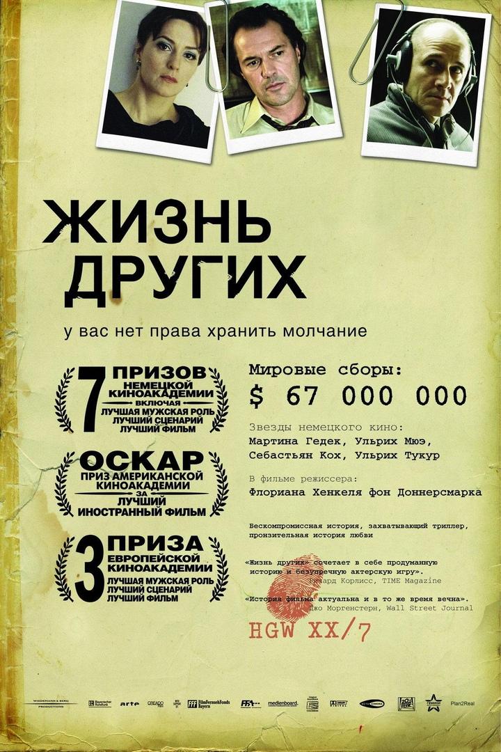 """Кинопоказ фильма """"Жизнь других"""""""