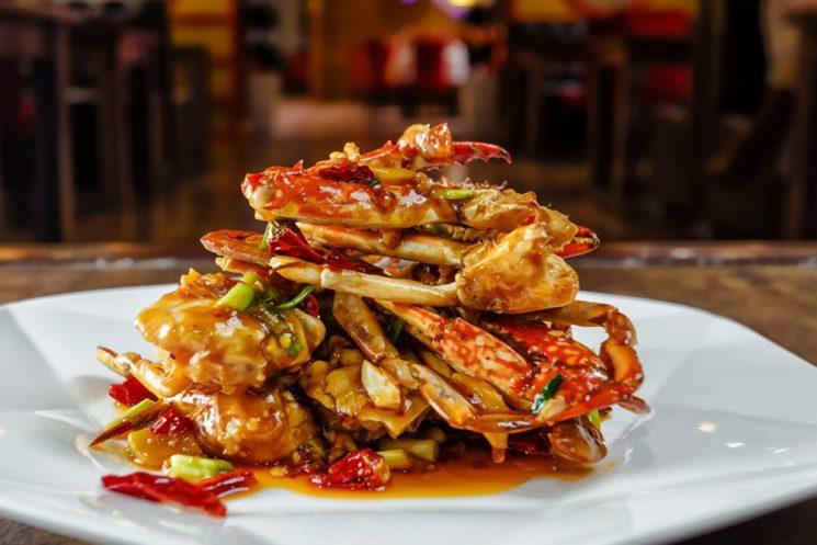 qingdao ресторан еда