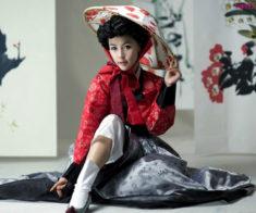 Выставка корейской традиционной одежды
