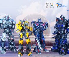 Трансформеры! Роботы-гиганты, поражающие воображение!