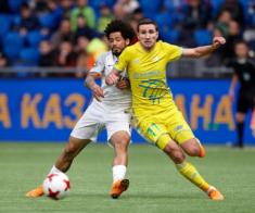 ФК «Астана» и ФК «Кайрат»