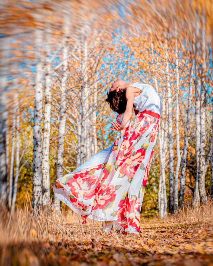 фотосессия осень