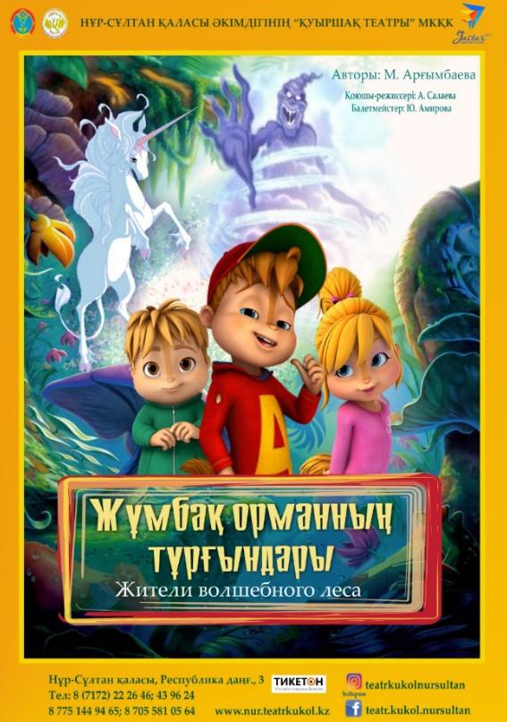 Жители волшебного леса