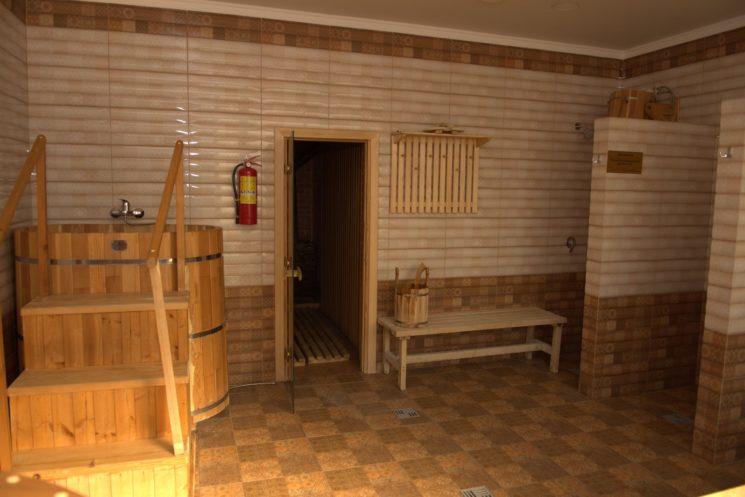 кедровая баня люкс