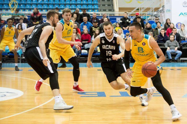 Матч ПБК «Астана» - БК «Нижний Новгород»