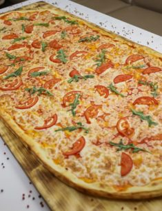 Самая большая пицца в Астане