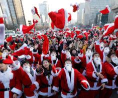 Празднование корейского Нового года
