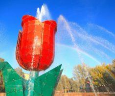 10 самых красивых фонтанов Шымкента