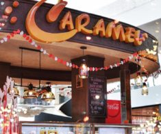 Caramel cafe bakery