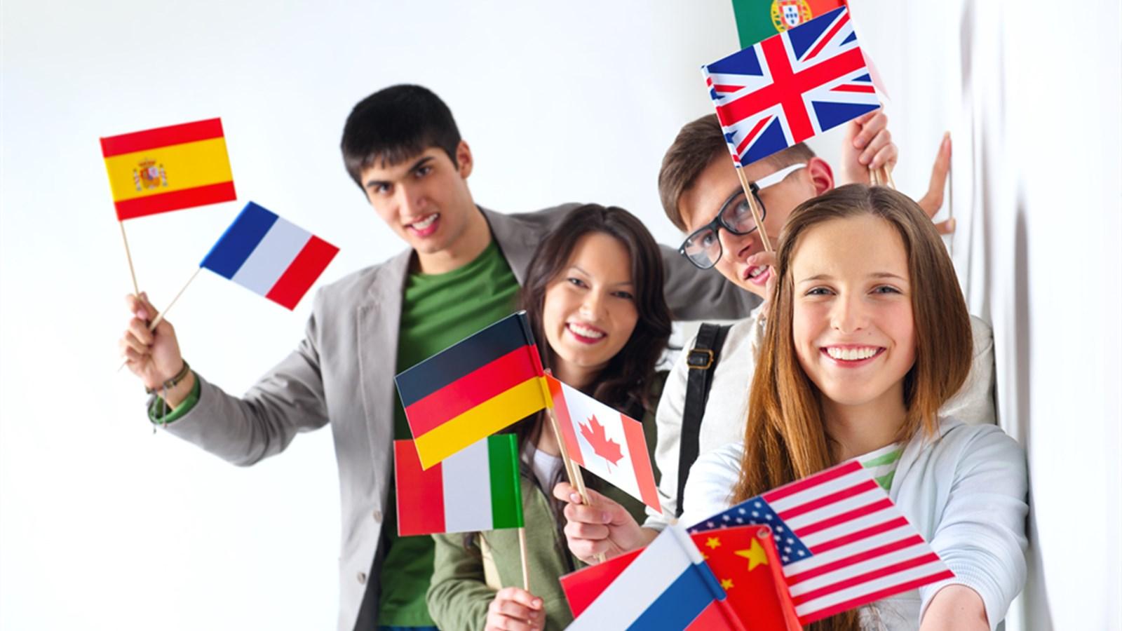 Изучение английского и французского языков фото