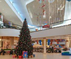 Новый год в торговых центрах Шымкента