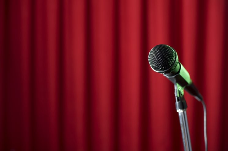 red-curtain-microphone