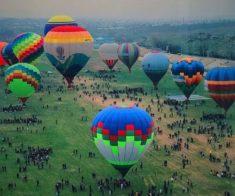 Международный фестиваль воздухоплавания «Ashyq Aspan»
