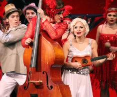 Мюзикл «В джазе только девушки»: гастроли КАТМК в Шымкенте