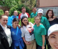 Добряки Шымкента: «Волонтёром может быть каждый»